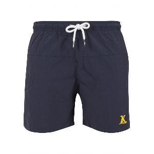 LX Logo Badeshorts Badeshorts Navy