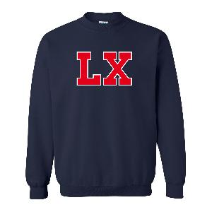 LX LX Frottee Logo Sweater Sweater Navy