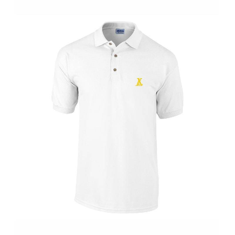 LX LX Polo Weiss Poloshirt, White