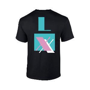 LX Miami T-Shirt T-Shirt Schwarz