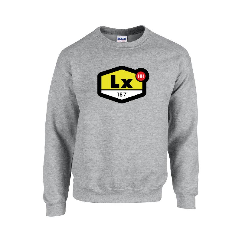 LX TN Sweater Sweater Grau