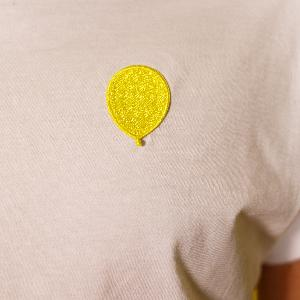 Mit Vergnügen Mit Vergnügen Ballon T-Shirt Weiss