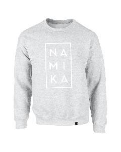 Namika Logo Sweater Grau