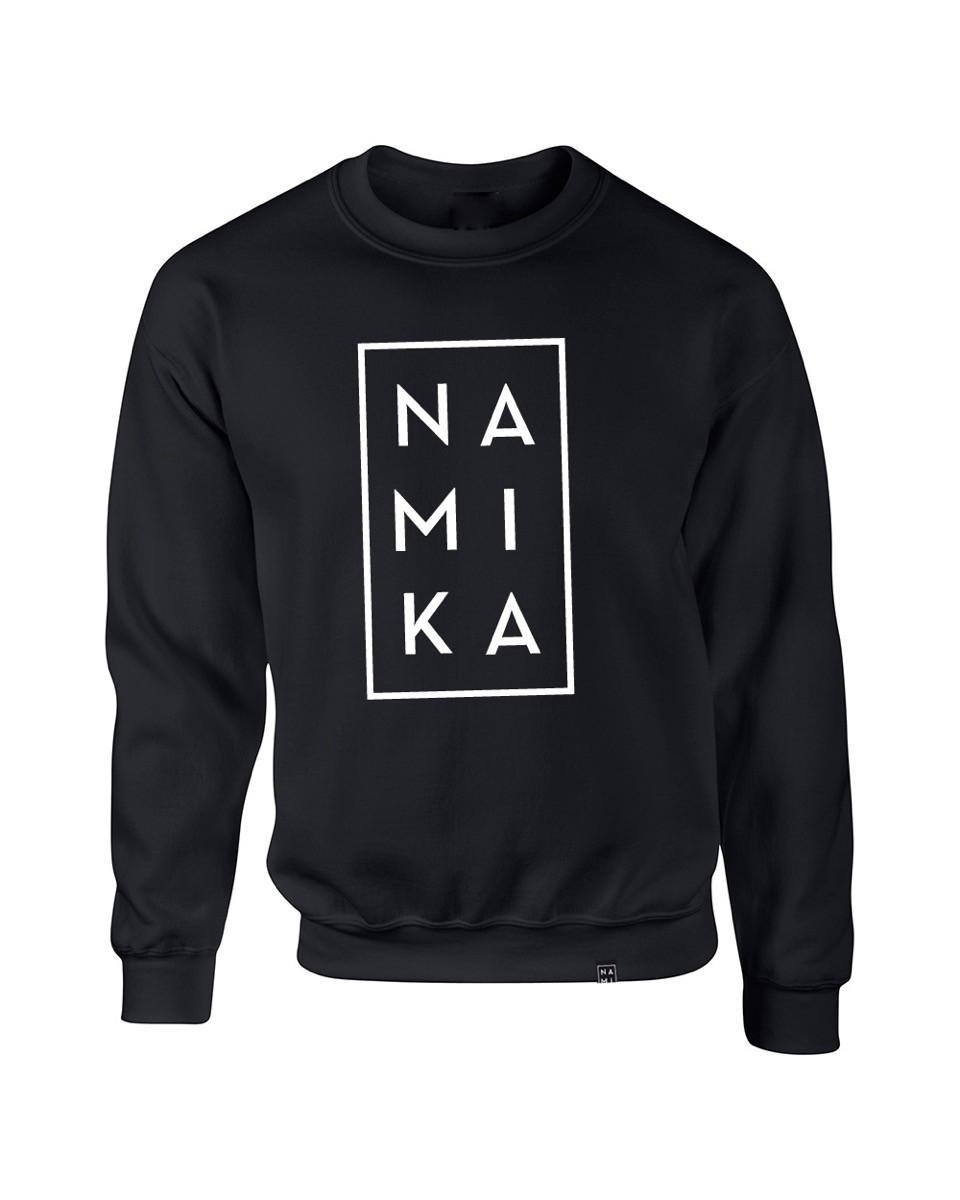 Namika Logo Sweater, Schwarz