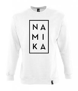 Namika Logo Sweater Weiss