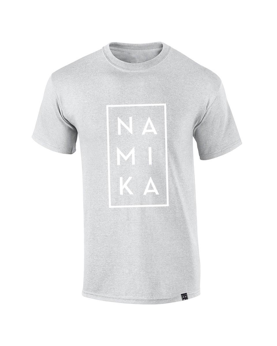 Namika Logo T-Shirt, Dunkelgrau