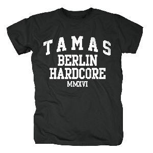 Tamas Hardcore T-Shirt schwarz