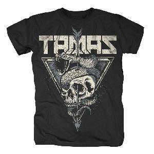 Tamas Skull T-Shirt schwarz