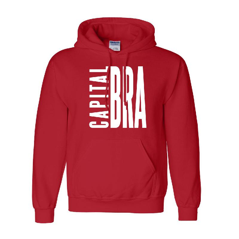 Team Kuku Capital Bra Hoody Hoodie Red