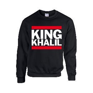 Team Kuku King Khalil Run DMC Sweater Schwarz Sweater Schwarz