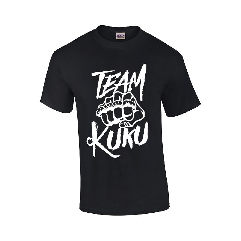 Team Kuku Kuku Black T-Shirt T-Shirt, Schwarz