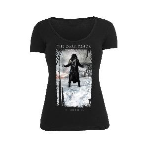 The Dark Tenor SHIRT BLACK LIMITED EDITION 2 - Female Girlie schwarz
