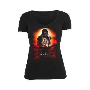 The Dark Tenor SHIRT BLACK LIMITED EDITION 3 - Female Girlie schwarz