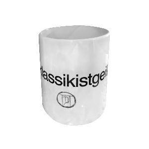 The Dark Tenor TASSE #KLASSIKISTGEIL Tasse weiss